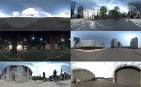 城市街道HDRI素材合集 7 High Definition HDRI pack